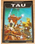 * Warhammer 40,000 Codex Tau Games Workshop 2001 - $10.00