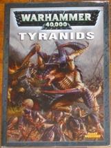 * Warhammer 40,000 Codex Tyanids Games Workshop... - $10.00