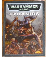 * Warhammer 40,000 Codex Tyanids Games Workshop... - $10.00