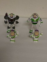 Lot of 4 Toy Story Buzz Lightyear Action Figures, Disney  - $25.00