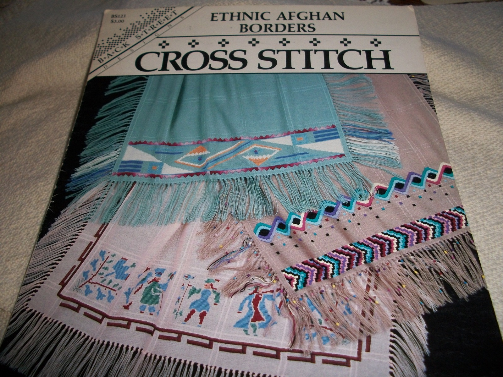 Primary image for Ethnic Afghan Borders: Cross Stitch