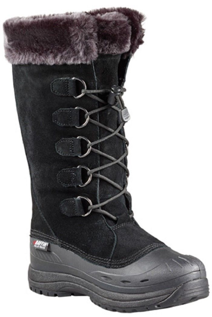 New Ladies Black Size 6 Baffin Judy Snowmobile Winter Snow Boots -40F/C