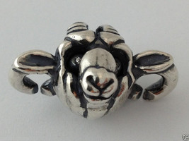 Authentic X by Trollbeads Sterling Silver Goat Link, 2015150008, New - $45.85