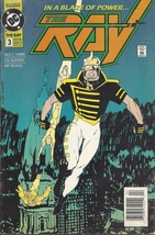 (CB-8) 1992 DC Comic Book: The Ray #3 - $2.00