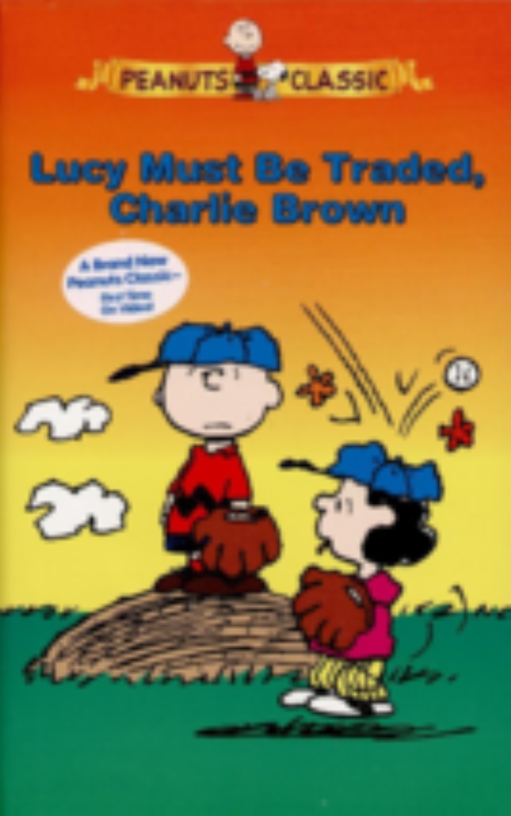 Peanuts - Lucy Must Be Traded, Charlie Brown Vhs