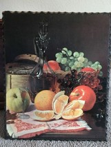 vintage Jav-art  #1003 fruit basket wall art - $18.79