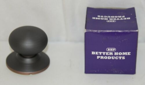 Better Home Products 42310B Mushroom Knob Dummy Oil Rubbed Bronze