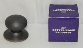 Better Home Products 42310B Mushroom Knob Dummy Oil Rubbed Bronze image 1