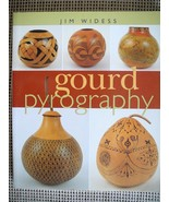 GOURD PYROGRAPHY Woodburning book by Jim Widess Like New!  - $9.99