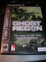 Tom Clancy's Ghost Recon (Sony PlayStation 2, 2002) - $8.99
