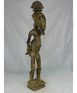 Baule Ancestor african art Baule Slave Figure Antique art of Africa blac... - $19,500.00