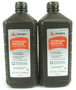 Hydrogen Peroxide 3% Topical Solution First Aid Antiseptic 32 Oz (2 Pack... - $10.40