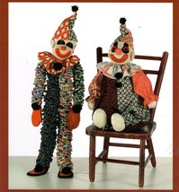 Indygo Juntion Pattern Clownin' Around Handmade... - $7.95