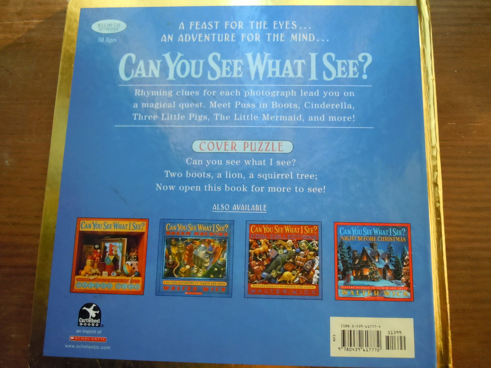 Can You See What I See? Once Upon A Time I Spy Book Hardcover