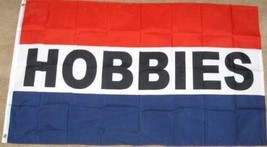 3X5 HOBBIES FLAG HOBBY STORE BANNER SIGN 3'X5' - $8.62