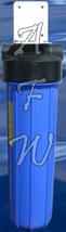 "KDF 55 / Carbon bacteria kill, chlorine, iron, filter Big blue 4.5"" x 20"" - $165.39"