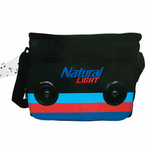 Natural Light 24 Can Bluetooth Speaker Cooler Bag Black - $38.98