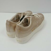 Converse One Star Platform Ox Low Top Shoes Gold 559924C Womens Size 10 NWT image 3