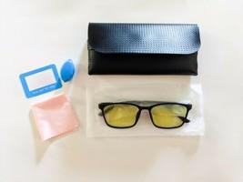 Blue Light Blocking Glasses Computer Gamer TV Phones With Case - $10.89