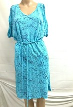 Fresh Produce sz s swing dress braided belt short sleeve scoop neck With... - $100.00