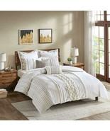 Ink+Ivy Imani Cotton Comforter Mini Set Ivory Full/Queen - $267.66