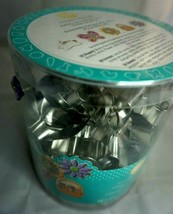 Wilton 18 Pc Cookie Cutter Set Easter Spring Flower Basket Butterfly Bunny New - $14.82