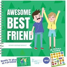 Best Friend Gifts - Unique booklet with Friendship Quotes, Stickers and ... - $20.68
