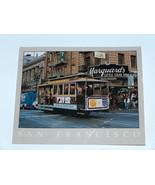 Reynard of San Francisco Cable Car Downtown Powell St Line Postcard Stev... - $8.36