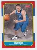 2008 2009 Fleer #86R167 Kevin Love > Minnesota Timberwolves > UCLA - $1.95