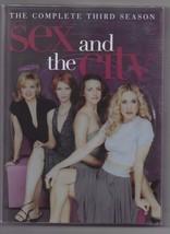 Sex And The City Season 3 DVD 2002 Sarah Jessica Parker  - $9.70