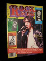 Rock Scene Magazine July 1978 NY Dolls David Johansen Kiss Lou Reed Davi... - $16.99