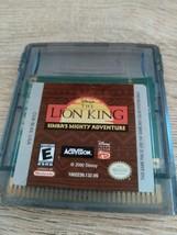 Nintendo Game Boy Color Disney The Lion King: Simba's Mighty Adventure image 1