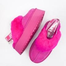 UGG Funkette Platform Sandal Color Rock Rose sz 7 New in box 1113474 - $193.49