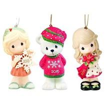 Precious Moments Ornaments Set - 3 Porcelain Christmas Ornaments, Figuri... - €10,48 EUR