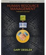 Instructor's Review Copy for Human Resource Management [Hardcover] [Jan ... - $49.00