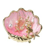 Disney Store Japan THE LITTLE MERMAID 2018 Ariel jewelry tray with pierc... - $64.35