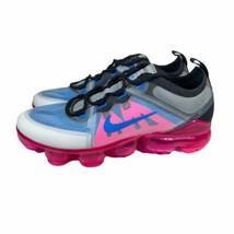 Nike Air VaporMax 2019 GS Photo Blue Pink Blast AJ2616-008 Size 6.5Y / W... - $149.88