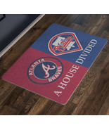 Philadelphia Phillies Atlanta Braves Baseball Welcome Mat House Divided ... - $37.00