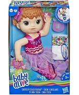 Baby Alive E4410ES1 Shimmer N Splash Mermaid Figure, Multi-Colour - $36.67