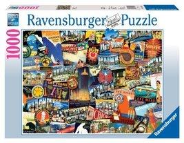 Ravensburger Road Trip USA - 1000 Piece Puzzle - $17.50