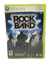 Rock Band (Microsoft Xbox 360, 2007) Video Game Complete in Case with Ma... - $7.99