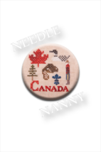 Canadian Patriotic Snippet #1 Needle Nanny cros... - $12.00