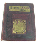 """Antique """"Story of the Bible"""" by Charles Foster 1892 Genesis To Revelation  - $90.00"""