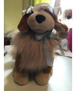 """15"""" VINTAGE DISNEY PETER PAN NANA BROWN PUPPY DOG STUFFED ANIMAL PLUSH T... - $80.18"""