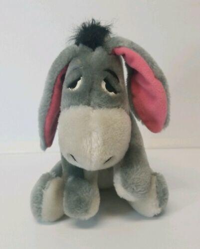 "Disneyland Eeyore Plush Gray Donkey Winnie the Pooh 8.5"" Stuffed Animal"