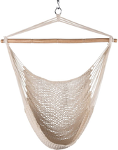 Lazy Daze Hammocks Hanging Caribbean Hammock Chair, Soft-Spun Cotton Rop... - $43.19