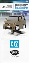 2014 Scion xB Shin Tanaka DIY PAPER SHAPERS brochure folder US Toyota - $8.00