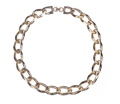 Christian Dior Chain Link Necklace - $324.00