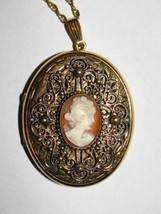 Danecraft Cameo Locket Necklace - $324.00