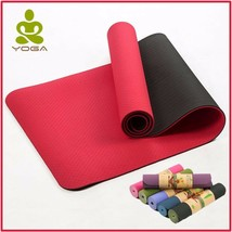 Yoga Mats Non Slip Fitness Gym Exercise Sports Pilates Bag Strap Home Po... - $29.95